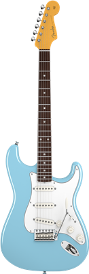Fender Eric Johnson Stratocaster®, Rosewood Fingerboard, Tropical Turquoise