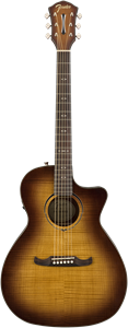 Guitare E/A Fender FA-345CE Auditorium Tea Burst