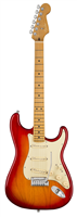 Guitare Electrique Fender American Ultra Stratocaster®, Maple, Plasma Red Burst