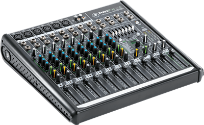 Table de mixage Mackie 12 canaux + effets - USB