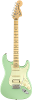 Fender American Performer Stratocaster® HSS, Maple Fingerboard, Satin Surf Green