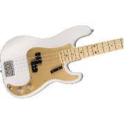 Basse Fender American Original 50 Precision Bass white blonde