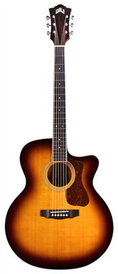 GUILD F-250CE Deluxe Maple ATB (Série Westerly/Jumbo)