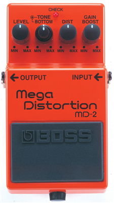 Pédale Boss Mega distortion - MD2