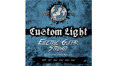 Cordes Electrique Framus Blue Label Custom Light .009-.046