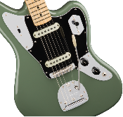 Fender American Pro Jaguar®, Maple Fingerboard, Antique Olive
