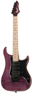 Guitare Electrique Vigier Excalibur Custom HSH, Floyd Rose = Deep Burgundy