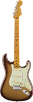 Guitare Electrique Fender American Ultra Stratocaster®, Maple, Mocha Burst