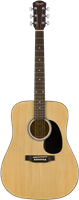 Squier Squier SA-150 Dreadnought, Stained Hardwood Fingerboard, Nat