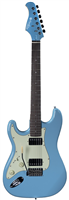 Prodipe Guitars, ST2HLHRA Sonic Blue HH, Gaucher