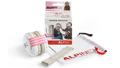 Protection auditive - Casque Alpine Muffy Baby - Pink