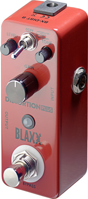 Pédale BLAXX  de Distorsion 3 modes pour guitare