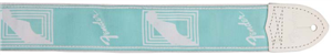 Sangle Fender Monogrammed Daphne Blue