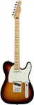 Guitare Electrique Fender Player Telecaster Erable, 3 tons sunburst