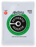 Cordes Acoustiques Martin Authentic Silked, Light, 92/8, Marquis