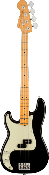 Fender American Professional II Precision Bass® Left-Hand, Maple Fingerboard, Bl