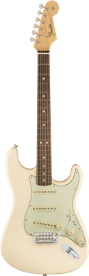 Fender American Original '60s Stratocaster®, Rosewood Fingerboard, Olympic White
