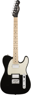 Guitare Electrique Squier Contemporary Telecaster® HH, Maple Fingerboard, Black