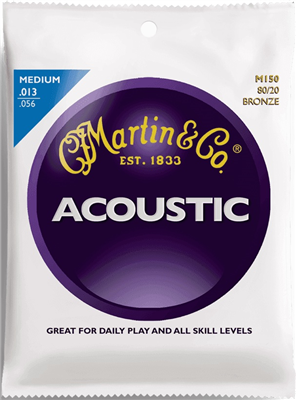 Cordes Acoustique Martin Bronze 80/20 Medium