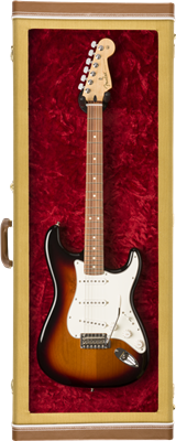 Case Guitare Fender tweed pour exposition