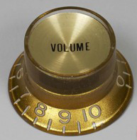 Bouton De Potentiomètre Type SG Gold vol x2