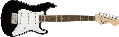 Guitare Electrique Squier Mini Strat®, Laurel Fingerboard, Black