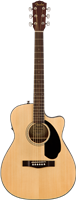 Fender CC-60SCE Concert, Walnut Fingerboard, Natural