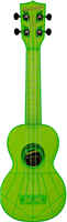 Kala - Ukulélé - Soprano (Standard) KA-SWF - THE WATERMAN fluorescent Sour Apple