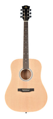 Guitare Acoustique Prodipe Guitars SD20 Dreadnought SD20 Naturelle