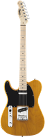 Electric Guitars Squier Affinity Series™ Telecaster® Left-Handed, Maple Fingerbo