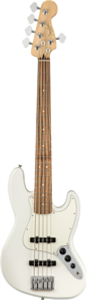 Fender Player Jazz Bass® V, Pau Ferro Fingerboard, Polar White