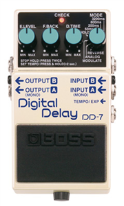 Pédale Boss Digital Delay DD-7