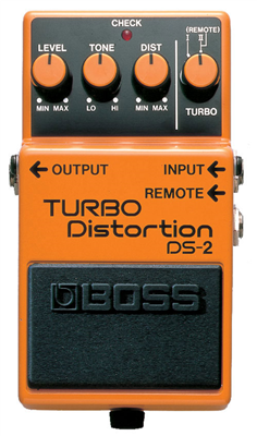 Pédale Boss TURBO Distortion DS-2