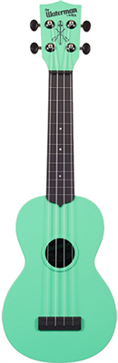 Ukulélé - Soprano (Standard) Kala KA-SWB - THE WATERMAN Sea Foam Green - Green