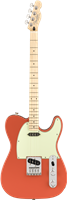 Fender Fender® Tenor Tele®, Maple Fingerboard, Fiesta Red
