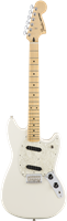 Guitare électrique Fender mustang , Maple Fingerboard , Olympic White