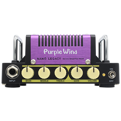 Micro Ampli Hotone Purple Wind - Marshall Plexi SuperLead 1959
