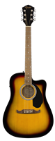 Fender FA-125CE Dreadnought, Walnut Fingerboard, Sunburst
