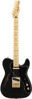 Guitare Electrique Fender LTD Deluxe Telecaster® Thinline, noir satiné