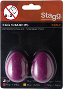 Oeufs sonores Stagg Magenta 50 g