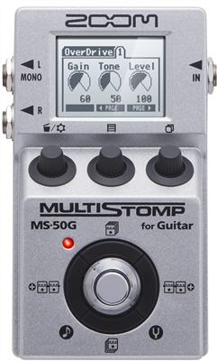 Pédale Zoom MultiStomp MS-50 pour guitare