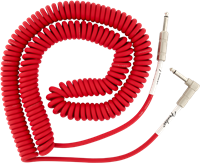 Cable Fender Original Coil 9m Droit-Coudé Fiesta Red