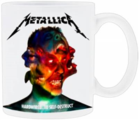 Mug Metallica Hardwired To Self Destruct Cover