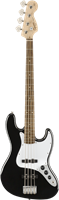 Basse Squier Affinity Series™ Jazz Bass®, Laurel Fingerboard, Black