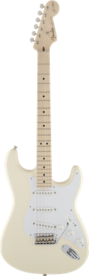Fender Eric Clapton Stratocaster®, Maple Fingerboard, Olympic White