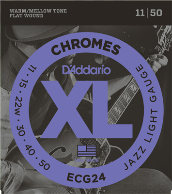 Cordes D'Addario XL Filet plat 11-50