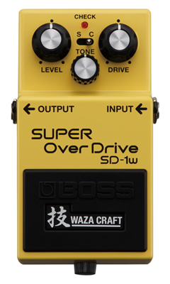 Pédale Boss  Super Overdrive SD-1W WazaCraft
