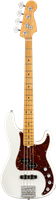 Fender American Ultra Precision Bass®, Maple Fingerboard, Arctic Pearl