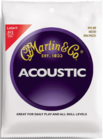 Cordes Acoustique Martin Bronze 80/20 Light