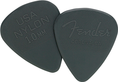 Fender Médiator 351 Shape, Nylon, 1.00 mm (12)